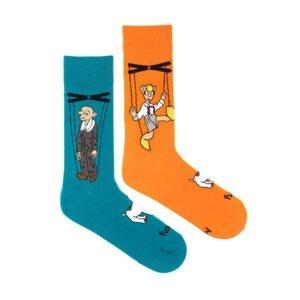 Merry socks Fusakle Spejbl and Hurvínek (--1105)