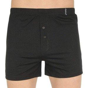 Men's shorts Molvy black (MP-1042-BBU)