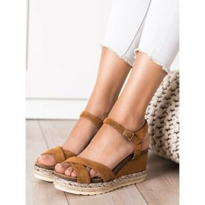 SHELOVET SANDALS ON A WED-WED FROM THE COUCH