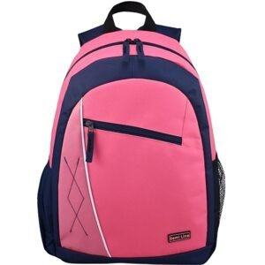 Semiline Woman's Youth Backpack 3284-2 Pink/Graphite