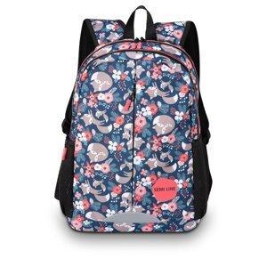 Semiline Woman's Backpack J4681-5