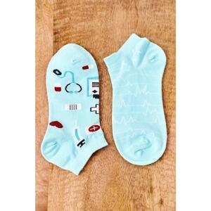 Mismatched Socks Medical Green