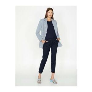 Koton Women's Navy Blue Pants
