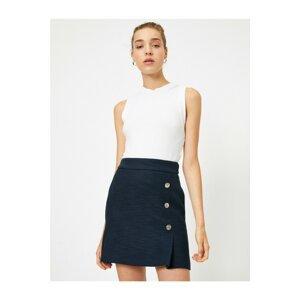 Koton Women's Navy Blue Skirt