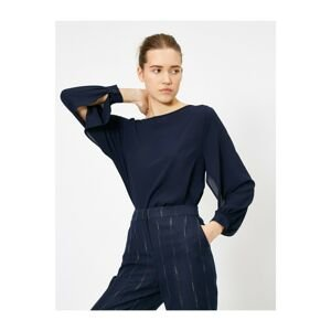 Koton Women's Navy Blue Blouse