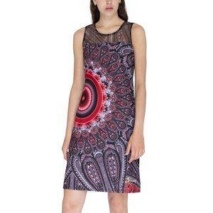 Desigual Šaty Woman Knitted Dress Sleeveless