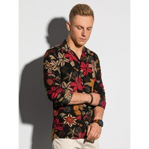 Ombre Clothing Men's shirt with long sleeves K569