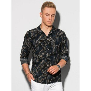 Ombre Clothing Men's shirt with long sleeves K571