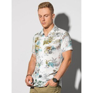 Ombre Clothing Men's shirt with short sleeves K580