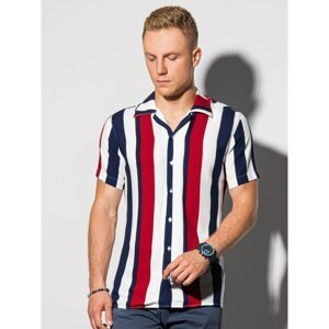 Ombre Clothing Men's shirt with short sleeves K575