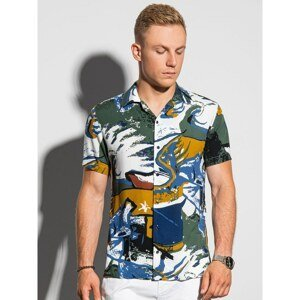 Ombre Clothing Men's shirt with short sleeves K574
