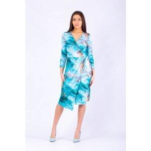 Taravio Woman's Dress 008 8 Turquoise