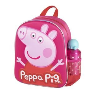 KIDS BACKPACK 3D CON ACCESORIOS PEPPA PIG