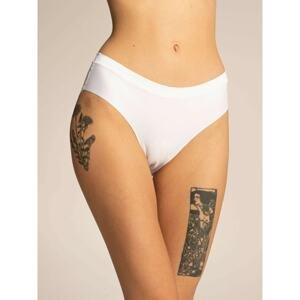 Plain white women's panties