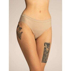 Plain beige women's panties