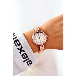 Watch On Bracelet With Cubic Zirconia Giorgio & Dario Rose Gold