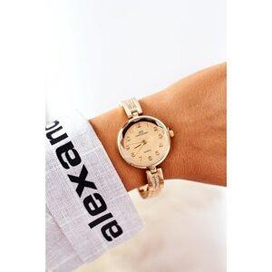 Watch On Bracelet With Cubic Zirconia Giorgio & Dario Gold
