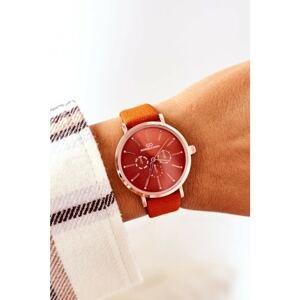 Watch On A Leather Strap Giorgio&Dario Orange