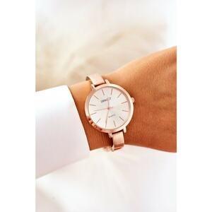 Watch On Bracelet ERNEST Rose Gold