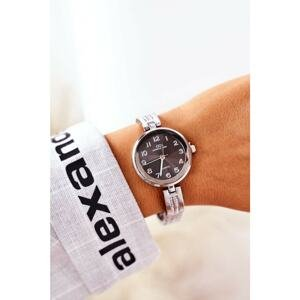 Watch On Bracelet With Cubic Zirconia Giorgio & Dario Silver