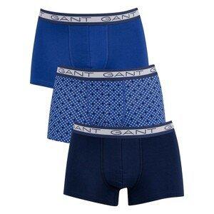 3PACK men's boxers Gant blue (902113253-436)