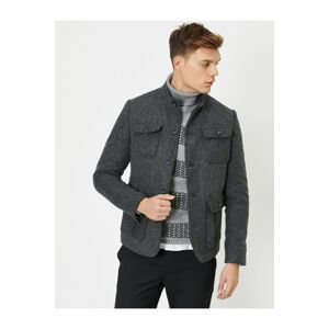 Koton Men's Gray Jacket