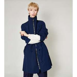 Click Woman's Jacket Cleto  Blue