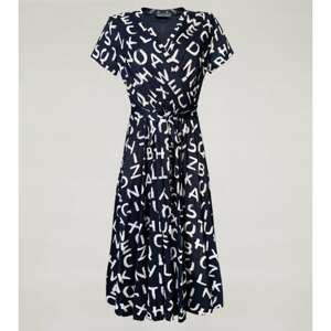 Click Woman's Dress Literka  Blue