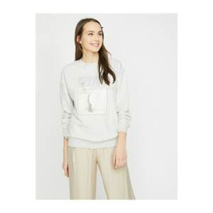 Koton Printed Sweatshirt