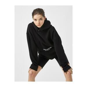Koton Women's Black Sweatshirt