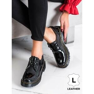 FILIPPO LACE-UP LEATHER SHOES
