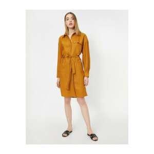 Koton Button Detailed Dress
