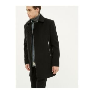 Koton Men's Black Coat