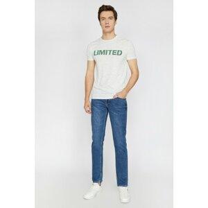 Koton Men's Blue Brad Jeans