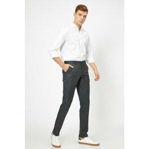 Koton Men's Pocket Detailed Trousers
