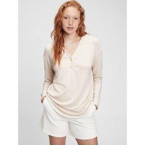 GAP T-shirt long sleeve henley