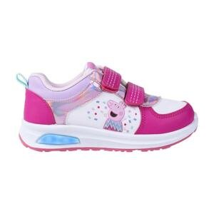 SPORTY SHOES PVC SOLE WITH LIGHTS PEPPA PIG