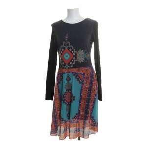 Desigual Šaty Woman Knitted Dress Short Sleeves