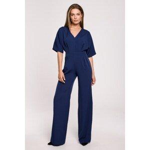 Stylove Woman's Jumpsuit S285 Navy Blue