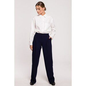 Stylove Woman's Trousers S283 Navy Blue