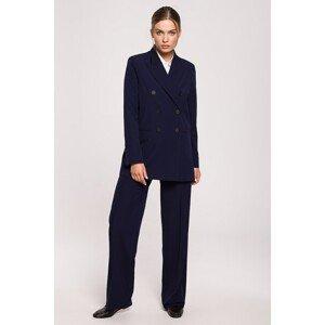 Stylove Woman's Jacket S281 Navy Blue