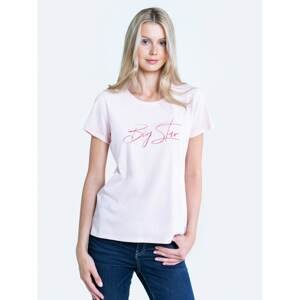 Big Star Woman's T-shirt_ss T-shirt 152068 Brak Knitted-600