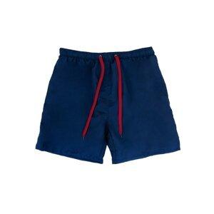 Yoclub Men's Beach Shorts KC-35/MAN/M36 Navy Blue
