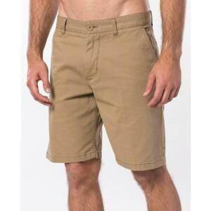 shorts Rip Curl TRAVELERS WALKSHORT Dark Khaki