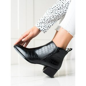 FILIPPO CASUAL HEELED ANKLE BOOTS