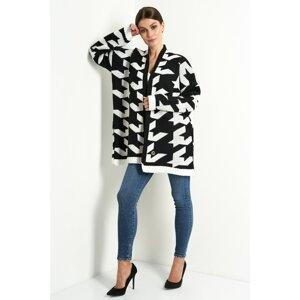Lemoniade Woman's Sweater LS289 Black/White