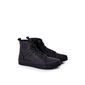 Men's High SneakersBIG STAR II174048 Black