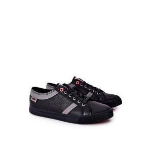 Men's Sneakers Cross Jeans II1R4004C Black