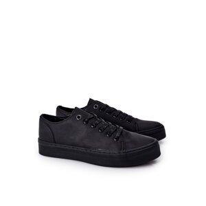 Men's Sneakers On A Platform BIG STAR II174047 Black