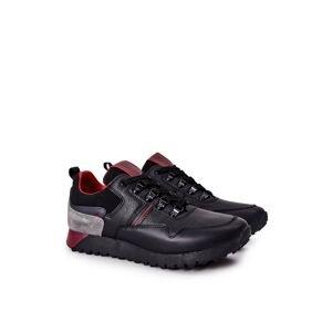 Sport Shoes Men's Memory Foam Big Star Black II174090